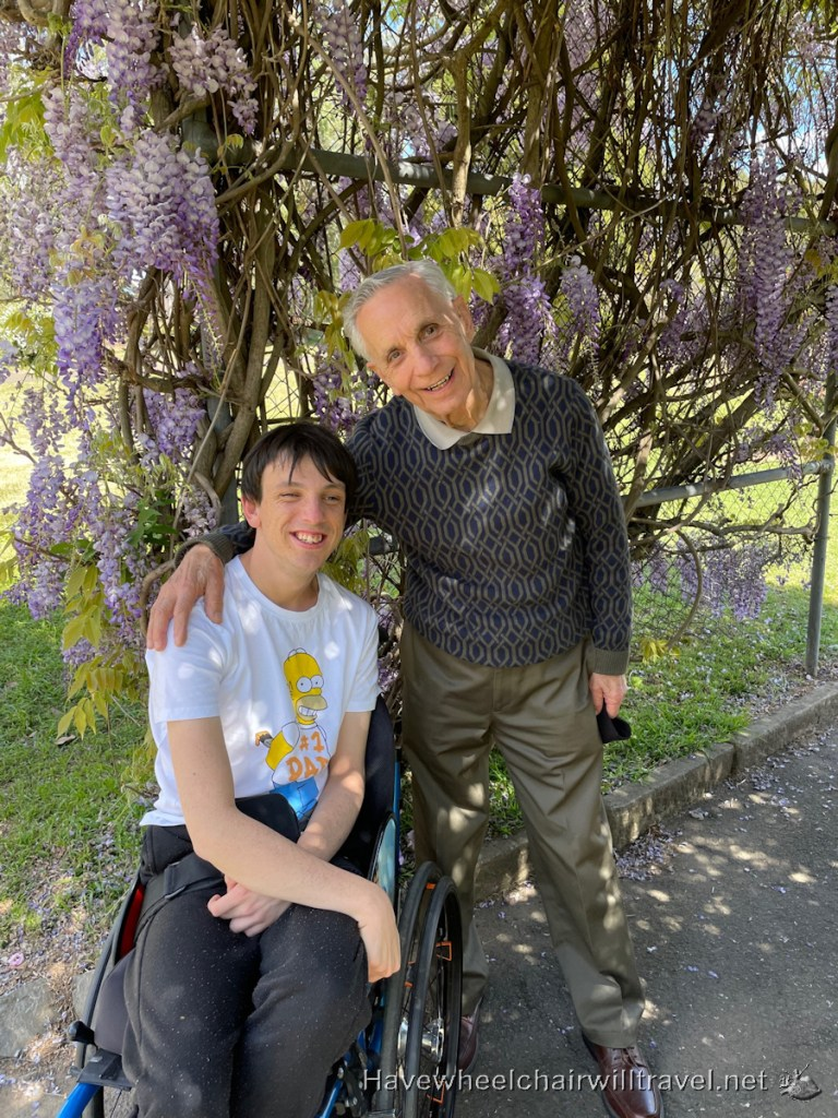 Wisteria - Have Wheelchair Will Travel