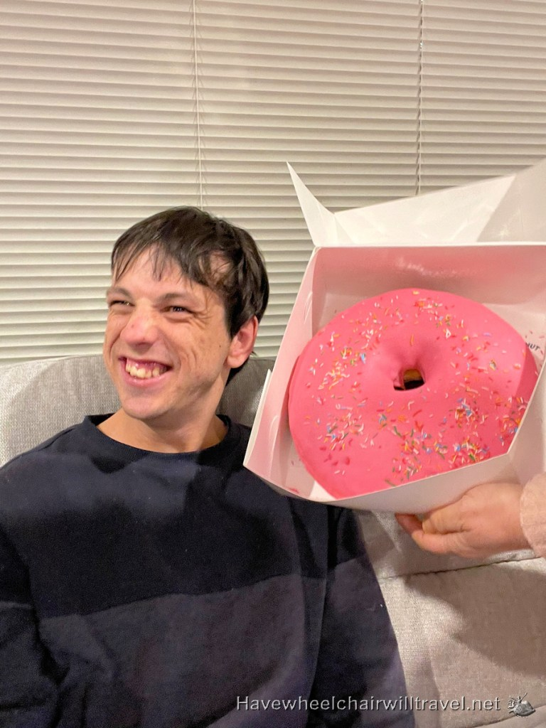 Donut - Have Wheelchair Will Travel