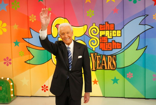 """Bob Barker Tapes His Final Episode Of """"The Price Is Right"""""""
