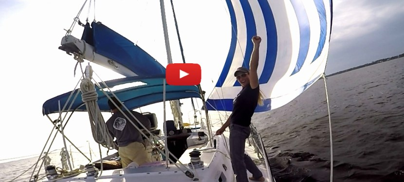 #59: A Boatyard Break to Sail the Chute
