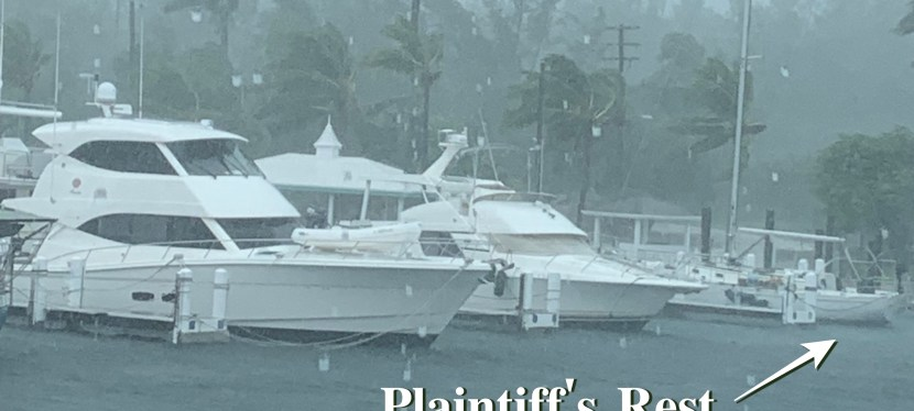 Hurricane Dorian: A Close-Call for Plaintiff's Rest in the Bahamas