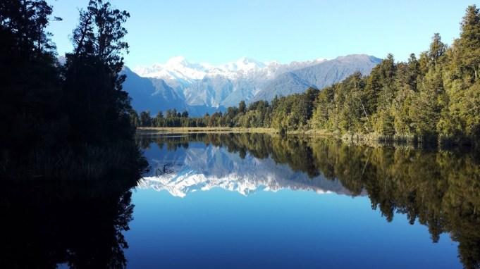 perfect Lake Matheson