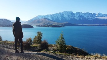 Lake Wakatipu E looking out