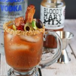 Fried Chicken Salted Bloody Mary's