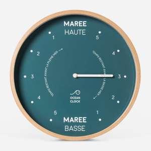 horloge des maree Ocean Clock verte