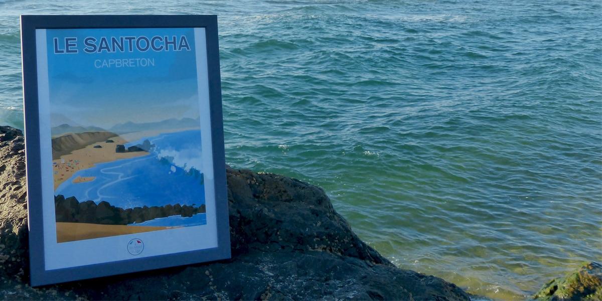 le-santocha-capbreton-souvenir-de-plage