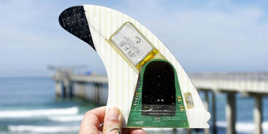 derive surf connectée smartfin