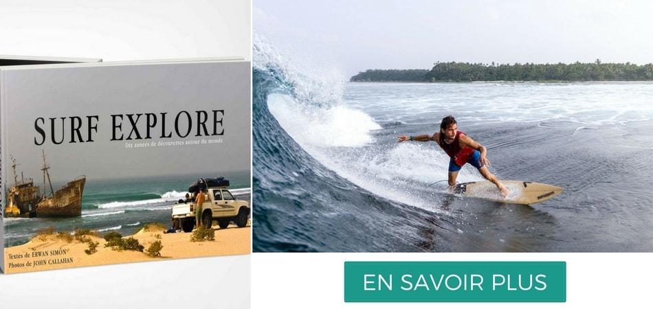 Livre surf explore erwan simon