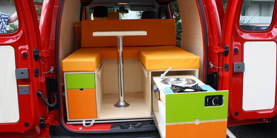 amenager sa voiture en camping-car Camp'in-Box