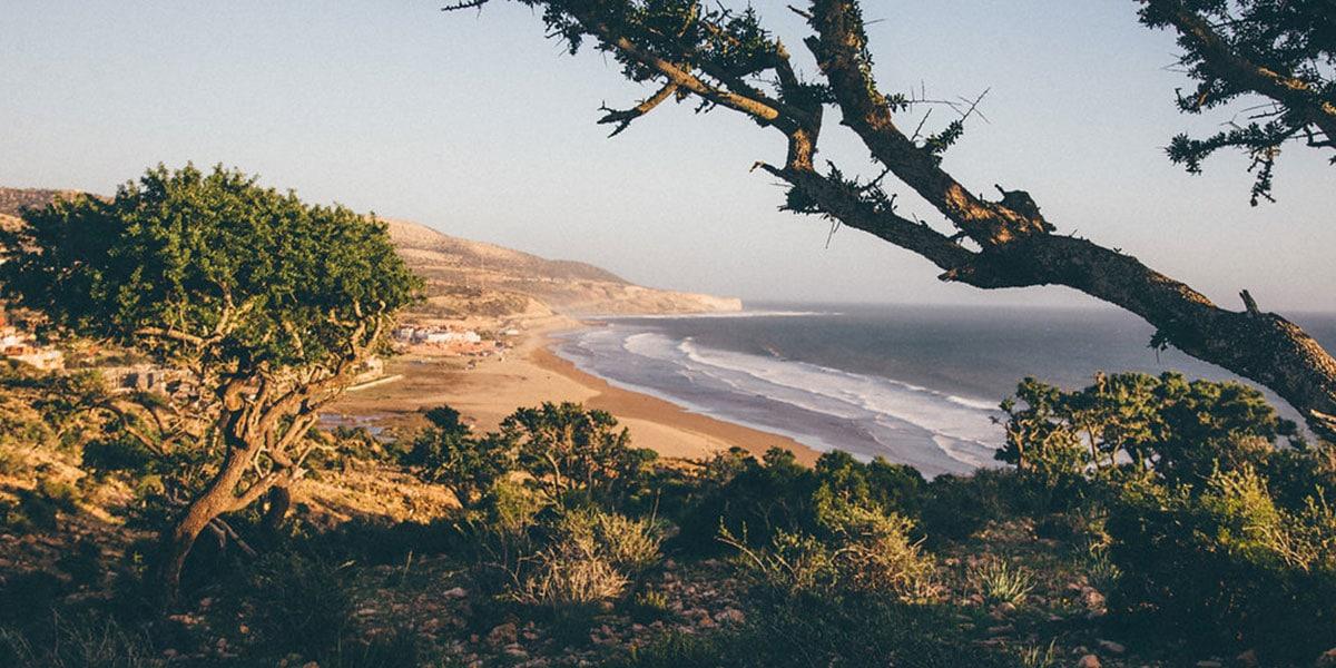 surftrip paysage maroc