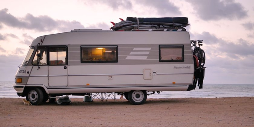 motorhome surf camp