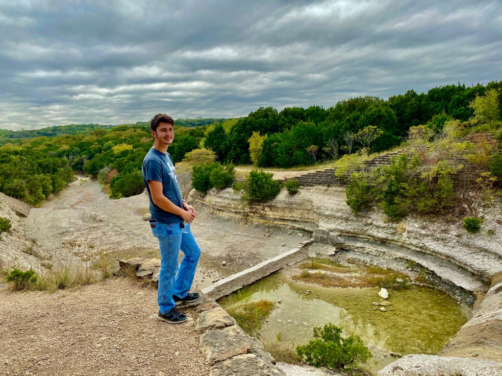 Spillway Overlook at Cleburne State Park, Texas
