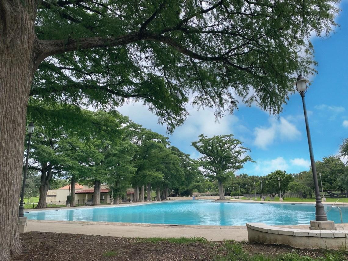 Beautiful San Pedro Springs Swimming Pool in San Antonio