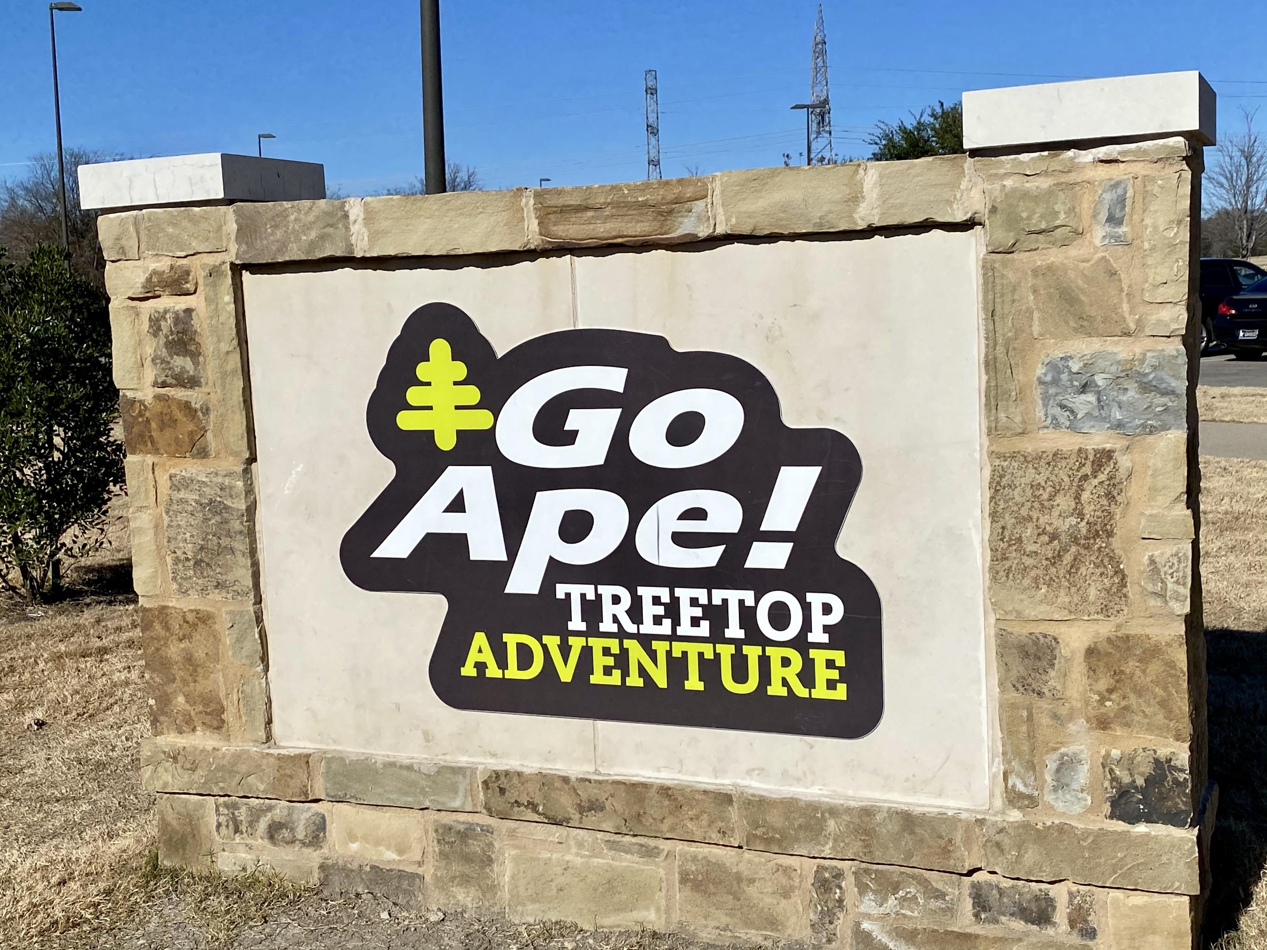 Go Ape Treetop Adventure Park in Plano Texas