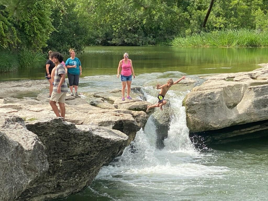 Upper Falls at McKinney Falls State Park, Austin