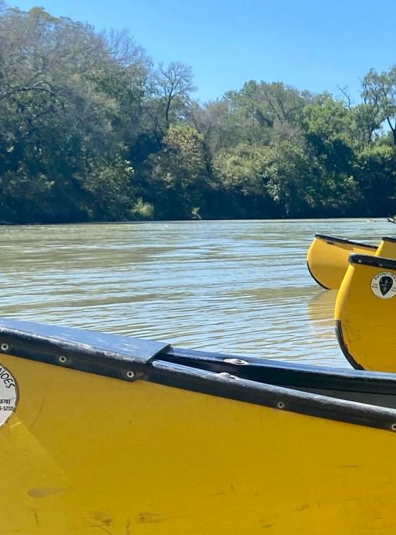 Bastrop River Company on the Colorado River Texas South of Austin