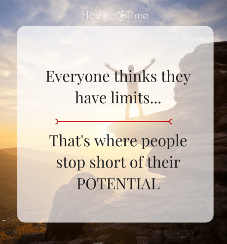 Everyone thinks they have limits...