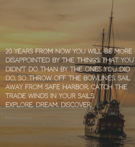 Mark Twain. Sail Away