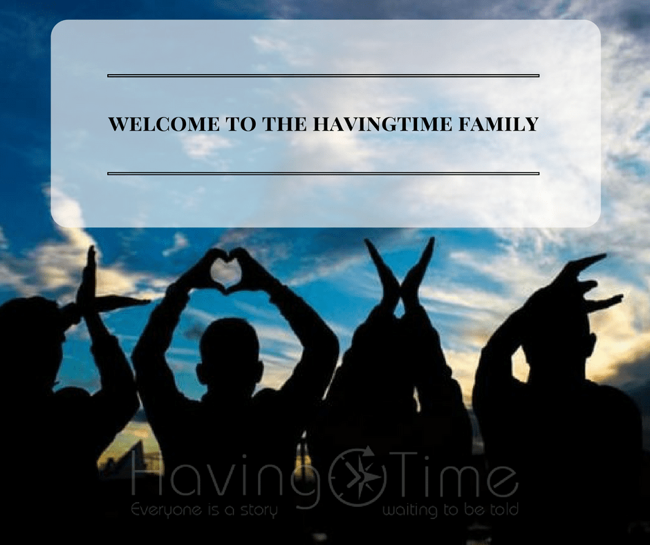Havingtimers, Welcome! Thank's For Joining The Family!