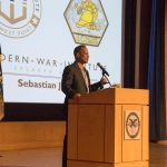 "Veteran Favorite Sebastian Junger Talks ""Tribe"" At West Point"