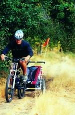 S vozíkem je možné vydat se i na lesní cesty.