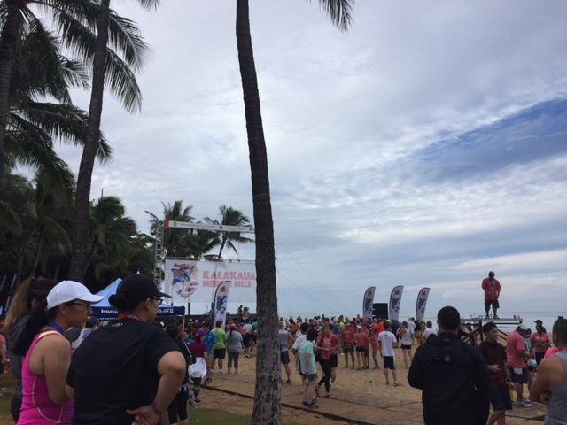 ホノルルマラソン2016