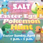 カカアコの人気スポット「SALT」でイースターのポケモンハント開催されます。4/16(日曜日)