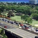 またしても、Kalanianaole Highwayの悪夢が?水道工事があります。ハワイカイ方面へ予定がある人は要注意です。