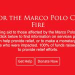 大火災の「マルコポーロ」へ私たちができること