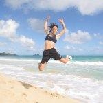「ハワイ美女ウェンズデー」東京オリンピックをめさずアスリートのRIKAさん。