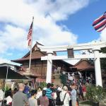 ハワイのお正月は、ハワイ金刀比羅神社で初詣。