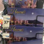 1つ37セントの格安ばら撒き土産にハワイの2018年カレンダーはいかが?