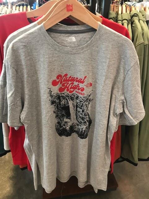 ノースフェイスのハワイ限定Tシャツ