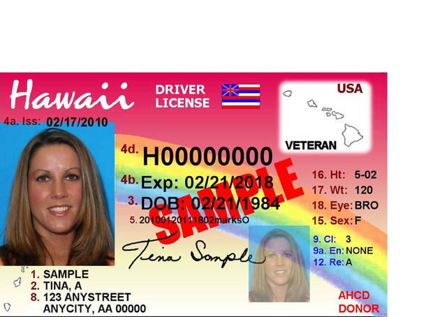 ハワイの車の免許
