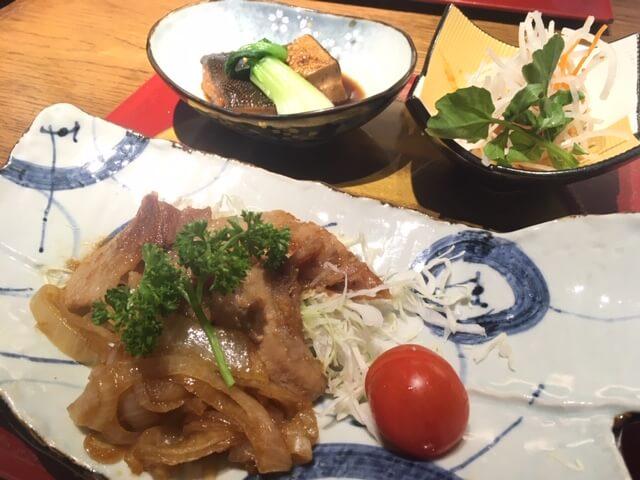 燦鳥(サントリー)の「旬菜膳」