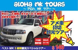 MK ALOHA TOURS