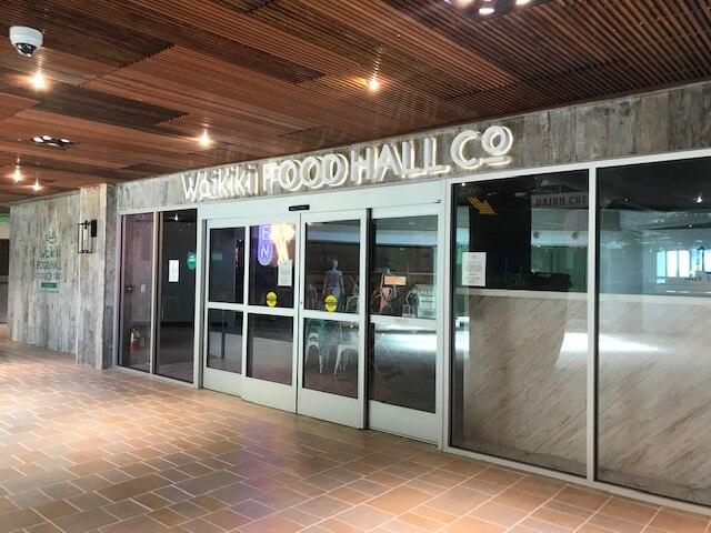 フードホール「Waikiki Food Hall」
