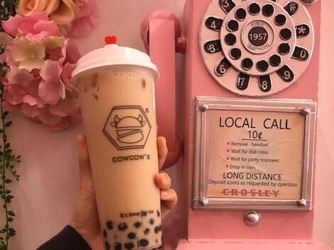 カイムキの人気タピオカ店「Cowcow's Tea」