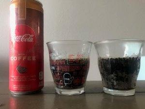 コーヒー味のコーラ「Coca Cola with COFFEE」