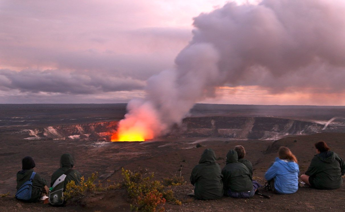 Where Is Valcano In Hawaii Big Island