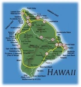 Die Geschichte von Big Island in Hawaii