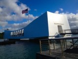 Das USS Arizona Nationaldenkmal in Pearl Harbor