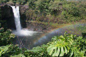 Rainbow Wasserfall Hilo