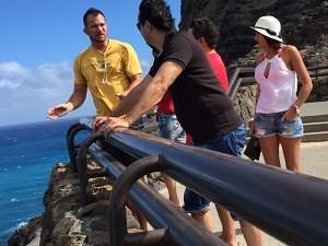 Makapuu Aussichtsplattform Oahu Insel Rundfahrt Hawaii