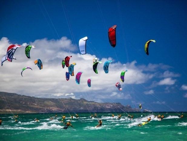 Kitesurfing Big Island Hawaii