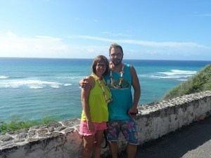 Deutsche Tour in Waikiki am Diamond Head Beach