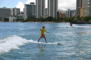Surfen auf Oahu, Honolulu
