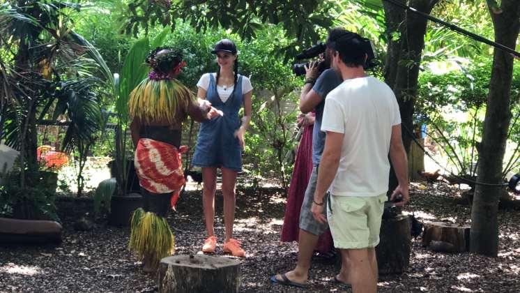 Betty Taube in Hawaii
