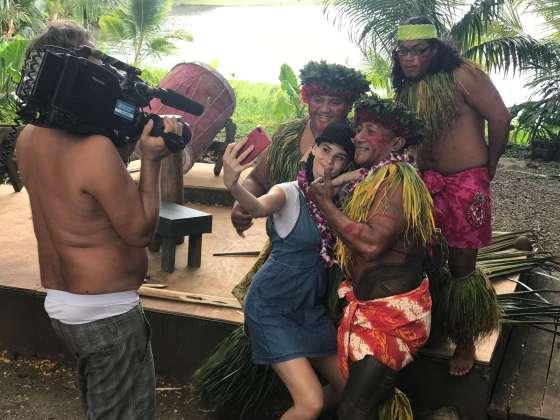 Betty Taube Instagram Selfie in Hawaii