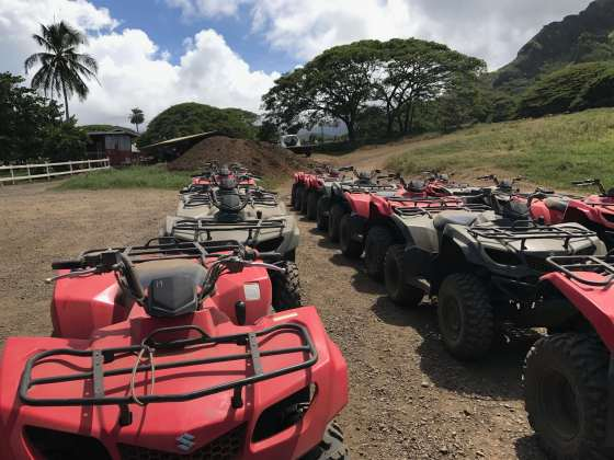 ATV Tour Kualoa Ranch Hawaii
